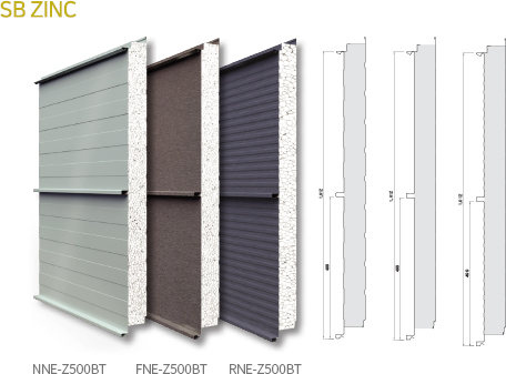 ZB Zinc Panel Mái Cliplock